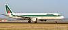 I-BIXP  Airbus A321-100 - Alitalia (Peter Beljaards) Tags: ibixp airbusa321100 airbus a321 alitalia carlomorelli ams eham rwy18r polderbaan nikon