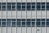 Ferry House (Number Johnny 5) Tags: shadow tamron d750 2470mm window repetition shapes abstract block office blind angles squares rectangles pattern sign lines nikon curtain