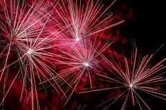 Happy New Year !! (Rainer D) Tags: fire firework night outdoor red flash 2017 2018 newyear happynewyear canoneos6def24105mmf4lisusm canoneos6d ef24105mmf4lisusm