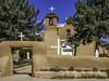 San Francisco de Asis Mission Church (Mabry Campbell) Tags: christianity h5d50c hasselblad newmexico sanfranciscodeasismissionchurch stfrancisofassisi taos usa unitedstatesofamerica architecture church historic image landmark old photo photograph religion touristattraction f11 mabrycampbell august 2017 august142017 20170814campbellb0001507 80mm ¹⁄₃₂₀sec 100 hc80 fav10
