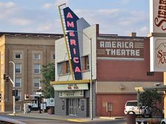 Casper, Wyoming (Jasperdo) Tags: casper wyoming roadtrip neonsign neon sign americatheatre movietheater theatre theater cinema building architecture