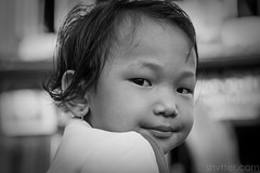 Untitled (#Weybridge Photographer) Tags: adobe lightroom canon eos dslr slr 5d mk ii mkii kathmandu nepal asia child girl monochrome