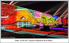 Antibes, 20 décembre 2014, spectacle de lumière sur l'Esplanade des Pré des Pêcheurs 08 (Michael J. Woerner) Tags: antibes côted´azur spectacledelumière spectacle lesplanadedesprédespêcheurs esplanade lightshow light