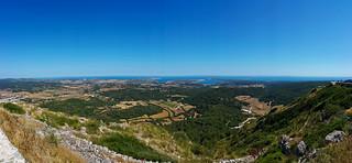 Menorca - View from Monte del Toro