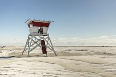 lifeguard station. (stevenbley) Tags: wildwood wildwoodcrest northwildwood nj newjersey beach winter snow offseason hotel motel january shore jerseyshore lifeguard