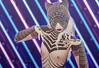 Tabby Cat (ѕάgα) Tags: arabic tattoo stripes second life cat moon vtech mod maitreya wonderful fashion event