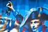 Bonap Art (Gerard Hermand) Tags: 1709230190 gerardhermand france paris canon eos5dmarkii formatpaysage raptuz detail laérosol napoleon bonaparte cheval horse david rue street art streetart mur wall peinture paint bombe spray