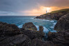 After The Storm (Luca Libralato) Tags: england uk unitedkingdom cornwall trevosehead lighthouse morning sunrise clouds sea rocks water coast rain hail wind longexposure canoneos6d canon1635 ndfilter gndfilter cpl nisi nisifilters lucalibralato libralato neutraldensity circularpolarizer
