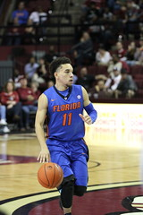 IMG_7468 Chris Chiozza 11 (dbadair) Tags: florida uf gators sec basketball ncaa o'connell center gainesville
