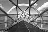 The Green Connection-3 (niekeblos) Tags: bridge greenconnection rotterdam blackandwhite architecture circle road canon6d