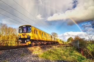 Under The Rainbow Test Train