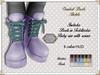 By Hanta - Combat boots (Pastels) (Hanta by Hanta) Tags: hanta colormecute secondlife toddledoo bebe bebebody slkid