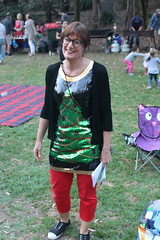 Lindsay Lamb and the tree (bobmendo) Tags: lcmanglicanchurch lane cove helen st reserve helenstreserve christmas park ark christmasinthepark lcm