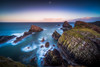Seascape Serenity (Augmented Reality Images (Getty Contributor)) Tags: portknockie longexposure coastline landscape sunset scotland water waves leefilters seascape canon morayfirth clouds rocks unitedkingdom gb cliffs