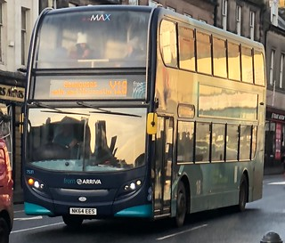 Arriva North East 7531 NK64 EES (18.12.2017)