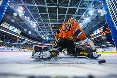 "Kansas City Mavericks vs. Colorado Eagles, December 17, 2017, Silverstein Eye Centers Arena, Independence, Missouri.  Photo: © John Howe / Howe Creative Photography, all rights reserved 2017. • <a style=""font-size:0.8em;"" href=""http://www.flickr.com/photos/134016632@N02/24278228877/"" target=""_blank"">View on Flickr</a>"