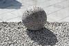 'Geómetriskur Garðálfur' (Tinna Gunnarsdóttir, 2000), Þjóðminjasafn Íslands, Reykjavík, Iceland (Ministry) Tags: geómetriskur garðálfur tinna gunnarsdóttir þjóðminjasafn íslands suðurgata reykjavík ísland geometrical garden gnome national museum iceland reykjavik geo lava sphere gravel entrance