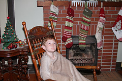 christmasrcj (babyfella2007) Tags: christmas 2017 oak antique child boy young carson grant jason taylor mantle fireplace piece brick victorian stick ball rocking chair golden marble top table parlor tree niloak vase lego aesthetic movement rug old vintage house interior