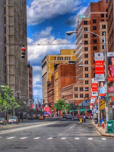 Hartford Connecticut  - HIstoric Downtown District - NRHP