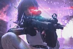 GITS_DSC0299,13122017,5Motoko (Yohann Franco) Tags: cosplay ghost shell gun muzzle laser future cyberpunk action