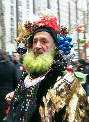 The Real Santa Clause (Stanley Zimny (Thank You for 28 Million views)) Tags: face man santa claus people nyc christmas holiday