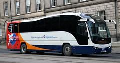 Stagecoach Fife 53705 OU10GYO arrives Edinburgh Bus Station with an X55 service. (Gobbiner) Tags: stagecoach b9r oxford elite express fife edinburgh volvo plaxton ou10gyo eastscotland cityconnect 53705 eastkent