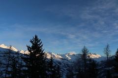 Massif de La Grande Plagne - Mont-Blanc (gab113) Tags: ski alpes montagne lescoches ciel nuage neige montblanc gabstar massif grandeplagne savoie altitude