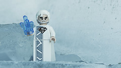 I have sent them you... my only son. (3rd-Rate Photography) Tags: jorel superman dccomics lego minifig minifigure toy toyphotography ice frozen canon 5dmarkiii 100mm macro jacksonville florida 3rdratephotography earlware 365