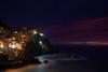 Purple sky in Manarola (jeremylisci) Tags: manarola 5terre liguria liguriansea sea seaside whatawonderfulworld longexposure italy italian canon canon6d eos6d aspirantisenzatetto roughsea