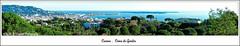Au sommet de La Croix des Gardes à Cannes  02 (M.J.Woerner) Tags: croixdesgardes naturepark nature park cannes panorama view viewpoint côted´azur