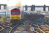 60001 Class 60 diesel locomotive (Roger Wasley) Tags: 60001 class60 db cargo cardiffcentral margam llanwern exchange sidings southwales freight trains railways uk gb diesel locomotive steel coils