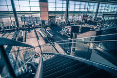international airport terminal views (DigiDreamGrafix.com) Tags: air airport terminal termina view design bag glass sky holiday business empty travel drop abstract transport transportation light board chair modern elements architecture building city urban window interior indoor room tourism floor logistic security hall vacation gate journey waiting flight public trip wait tourist aircraft voyage traveling rag traveller plane airplane departure jet international lounge do boarding views runway bwi wahingtondc sunset andrews jba