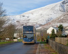 White Gold (Richie B.) Tags: gategill fell blencathra stagecoach cumbria and north lancashire threlkeld adl alexander dennis enviro 400 scania n230ud yn65xfb