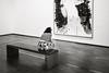 Correspondences (toletoletole (www.levold.de/photosphere)) Tags: fuji wien x100f vienna sw bw albertina museum kunst art visitors menschen people besucher painting gemälde bench bank portrait porträt