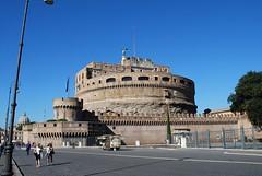 Castillo de Sant'Angelo (Roma, Italia, 16-10-2017) (Juanje Orío) Tags: 2017 roma rome italia italy patrimoniodelahumanidad worldheritage castillo castle fortaleza fortress