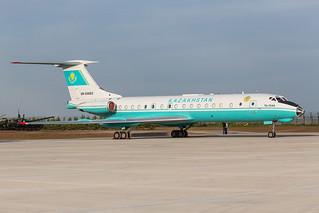 UN-65683. Tupolev Tu-134A Kazakhstan Government @ Astana TSE UACC