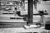 Dubai Boatmen (lh tanG) Tags: dubai creek boatman