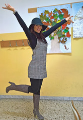 Young teacher (lellodeg) Tags: female teacher