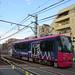 Toden 8800 Series Streetcar near Kishi-bozin-mae Station 5