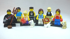 Brick Yourself Custom Lego Figures Happy Family
