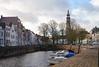 Middelburg (Omroep Zeeland) Tags: stad middelburg dam huizen bootjes water dok langejan kerk bomen enz