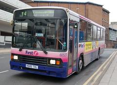 First Volvo B10M-55 60527 H685THL - Sheffield (dwb transport photos) Tags: first volvo alexander bus 60527 h685thl sheffield