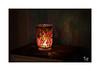 Glaslichter (Fujigraf) Tags: pentacon practica 50mm 18 licht kerze vase bunt farben color flur schrank fuji xt20