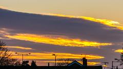 Sunset Little Sandhurst 08 January 2018 (3) (BaggieWeave) Tags: berkshire sandhurst littlesandhurst sunset atmospheric clouds