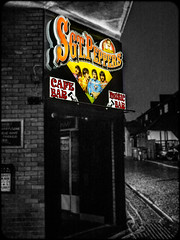 SGT Peppers, Newcastle. (CWhatPhotos) Tags: cwhatphotos seargant sgt peppers pub music 70s 60s 80s 90s venue selective select partial color colour colors colours cafe bar olympus esystem four thirds digital camera sigma 19mm art lens pictures picture photo photos image images foto fotos that have which contain taken newcastle upon tyne north east england uk 2017 dec december city centre
