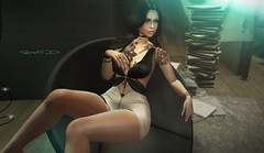 # ♥292 (sophieso.demonia) Tags: shiny shabby bold beauty supernatural hipster men event secrets swank events arabic tattoos avangarde ee pm