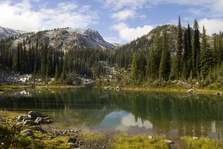 Keen Lake and Garland Lake