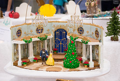 tale as old as time (raspberrytart) Tags: festivaloftrees christmas gingerbread gingerbreadhouse gingerbreadcookie cookie candy decorating nikon d7100