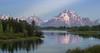 Mount Moran at Sunrise (brianconnollyphoto) Tags: 2015 grandtetonnationalpark oxbowbend wyoming summer sunrise