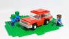 Lego Minecraft styled car MOC (hachiroku24) Tags: lego minecraft car moc game instructions